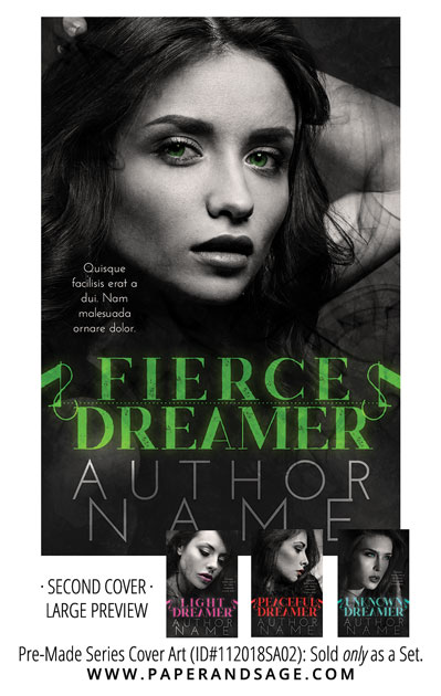 PreMade Series Covers ID#112018SA02 (The Dreamers Series, Only Sold as a Set)