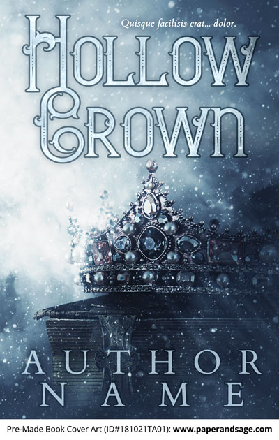 Pre-Made Book Cover ID#181021TA01 (Hollow Crown)