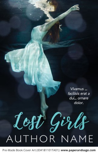 Pre-Made Book Cover ID#181101TA01 (Lost Girls)