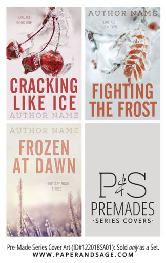 PreMade Series Covers ID#122018SA01 (Like Ice Trilogy, Only Sold as a Set)