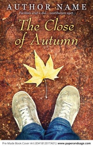 Pre-Made Book Cover ID#181201TA01 (The Close of Autumn)