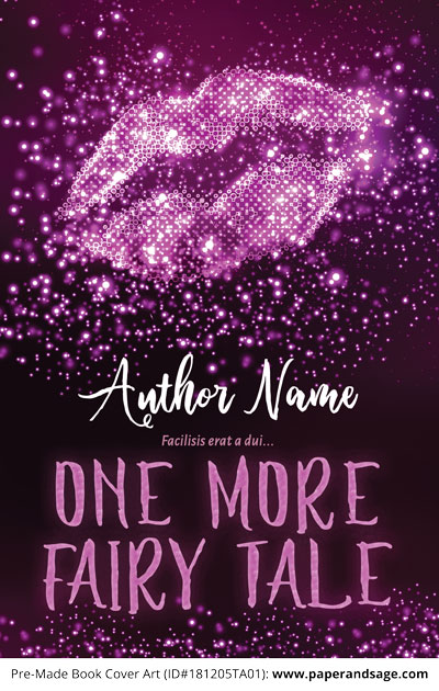 Pre-Made Book Cover ID#181205TA01 (One More Fairy Tale)