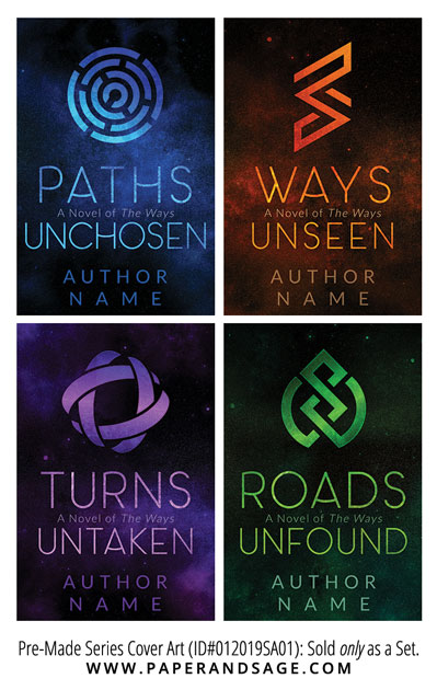 PreMade Series Covers ID#012019SA01 (The Ways Series, Only Sold as a Set)