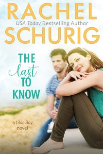 Book Cover for The Last to Know by Rachel Schurig