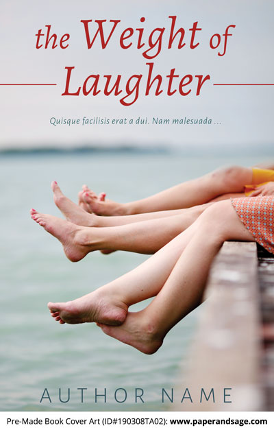 Pre-Made Book Cover ID#190308TA02 (The Weight of Laughter)