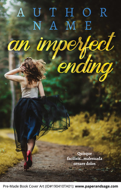 Pre-Made Book Cover ID#190410TA01 (An Imperfect Ending)