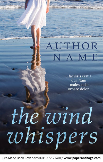 Pre-Made Book Cover ID#190512TA01 (The Wind Whispers)