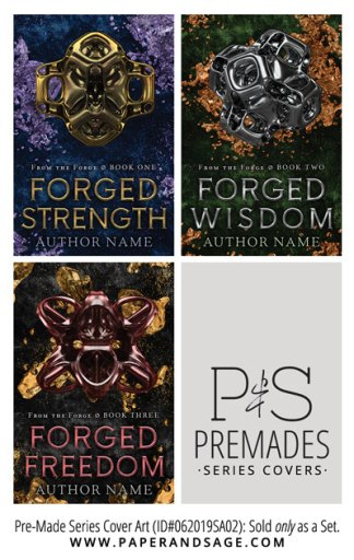 PreMade Series Covers ID#062019SA02 (From the Forge, Only Sold as a Set)