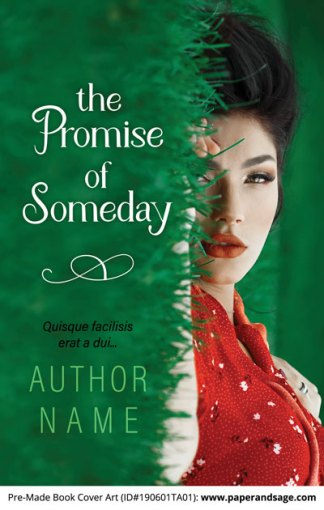 Pre-Made Book Cover ID#190601TA01 (The Promise of Someday)