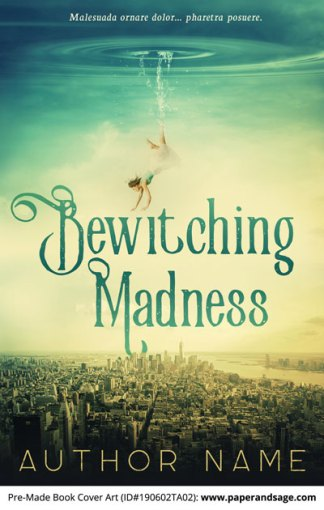 Pre-Made Book Cover ID#190602TA02 (Bewitching Madness)