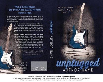 Pre-Made Book Cover ID#190603TA02 (Unplugged)