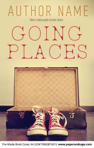 Pre-Made Book Cover ID#190608TA01 (Going Places)