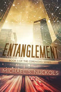 Book Cover for Entanglement by Michael S. Nuckols