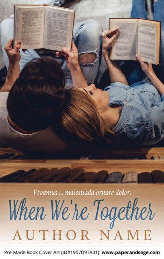 Pre-Made Book Cover ID#190709TA01 (When We're Together)