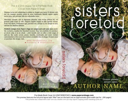 Pre-Made Book Cover ID#190903TA01 (Sisters Foretold)