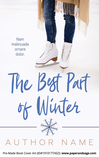 Pre-Made Book Cover ID#191017TA02 (The Best Part of Winter)