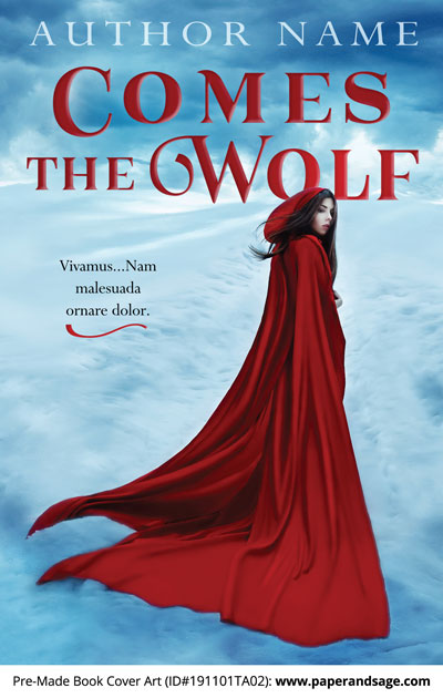 Pre-Made Book Cover ID#191102TA01 (Comes the Wolf)