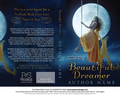 Pre-Made Book Cover ID#200101TA02 (Beautiful Dreamer)