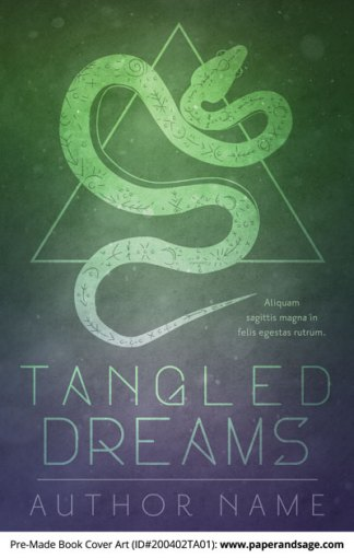 Pre-Made Book Cover ID#200402TA01 (Tangled Dreams)