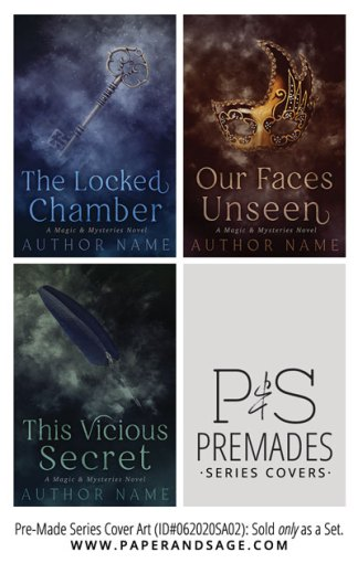 PreMade Series Covers ID#062020SA02 (Magic & Mystery Series, Only Sold as a Set)
