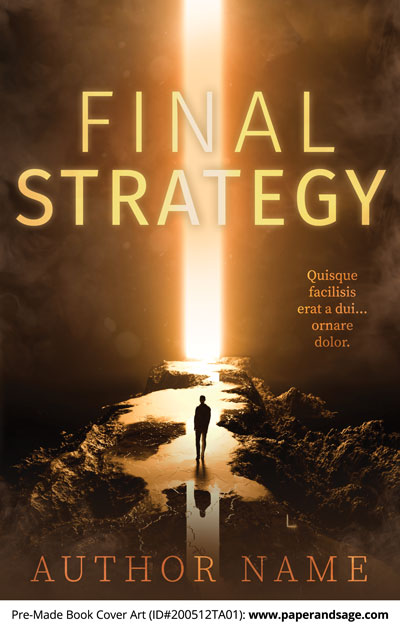 Pre-Made Book Cover ID#200512TA01 (Final Strategy)