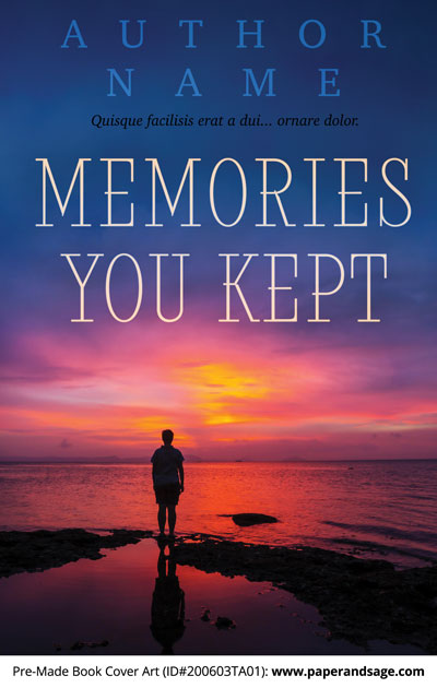 Pre-Made Book Cover ID#200603TA01 (Memories You Kept)