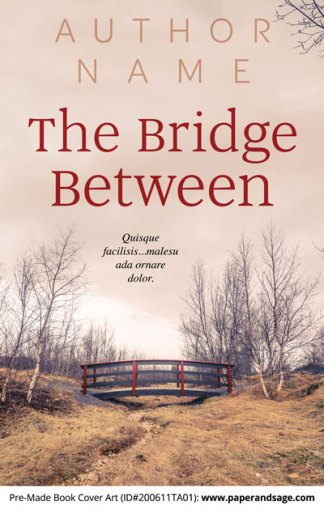 Pre-Made Book Cover ID#200611TA01 (The Bridge Between)