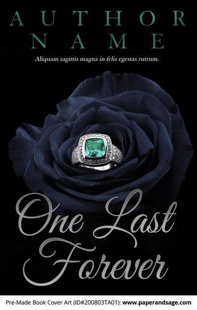 Pre-Made Book Cover ID#200803TA01 (One Last Forever)