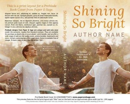 Pre-Made Book Cover ID#200807TA01 (Shining So Bright)