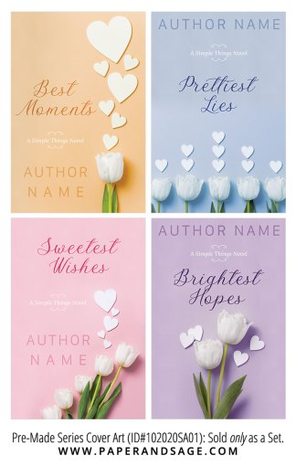PreMade Series Covers ID#102020SA01 (Simple Things Series, Only Sold as a Set)