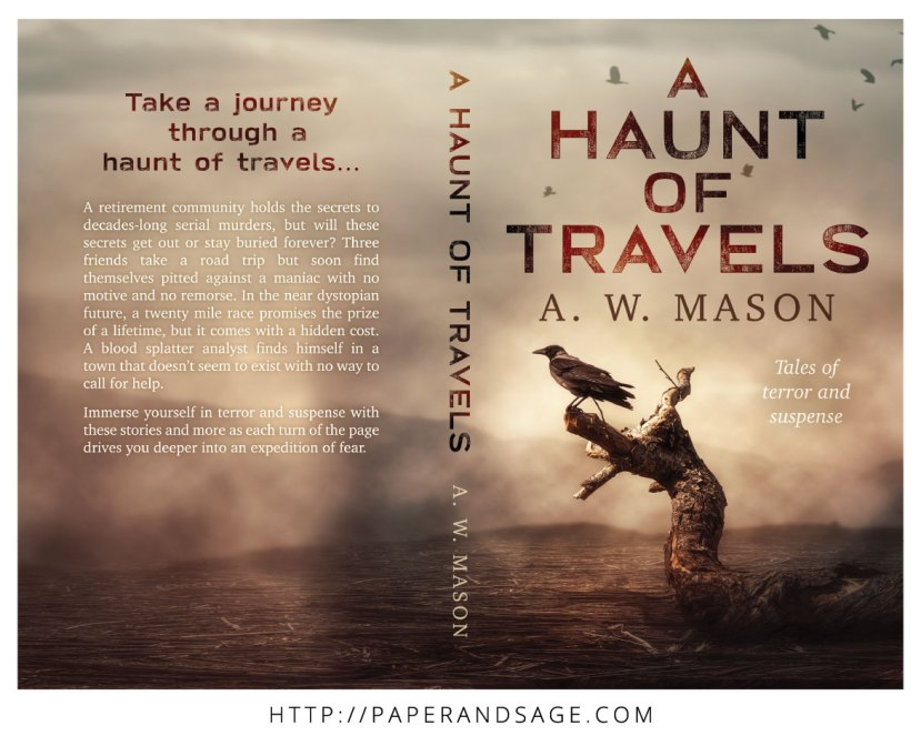 Print layout for A Haunt of Travels by AW Mason