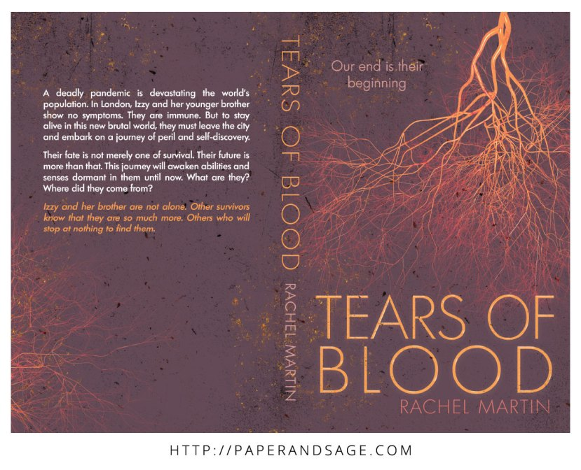 Print layout for Tears of Blood by Rachel Martin