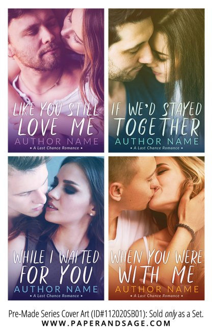 PreMade Series Covers ID#112020SB01 (Last Chance Romance Series, Only Sold as a Set)