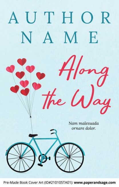 Pre-Made Book Cover ID#210105TA01 (Along the Way)