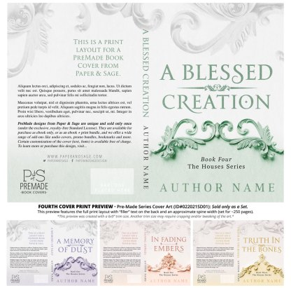 PreMade Series Covers ID#022021SD01 (Houses Series, Only Sold as a Set)
