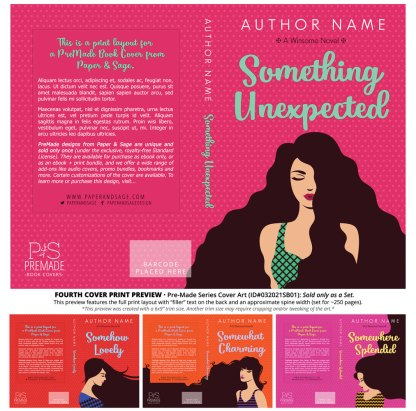 PreMade Series Covers ID#032021SB01 (Winsome Series, Only Sold as a Set)