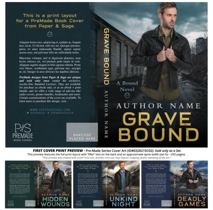 PreMade Series Covers ID#032021SC02 (Bound Series, Only Sold as a Set)