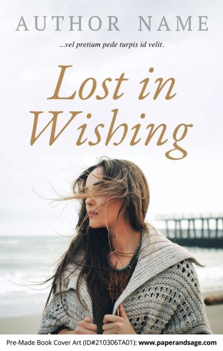 Pre-Made Book Cover ID#210306TA01 (Lost in Wishing)
