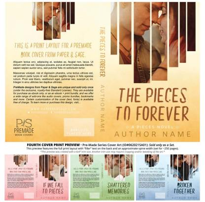 PreMade Series Covers ID#062021SA01 (Pieces Series, Only Sold as a Set)