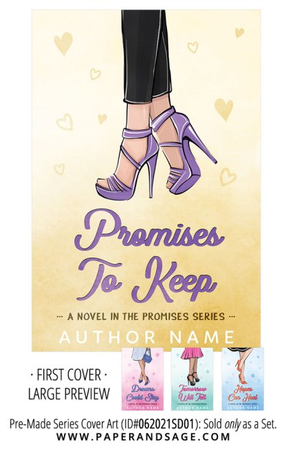 PreMade Series Covers ID#062021SD01 (Promises Series, Only Sold as a Set)