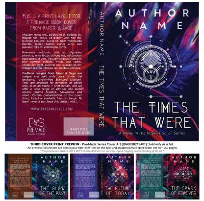 PreMade Series Covers ID#082021SA01 (Intellek Series, Only Sold as a Set)