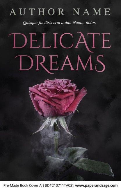 PreMade Book Cover ID#210711TA02 (Delicate Dreams)