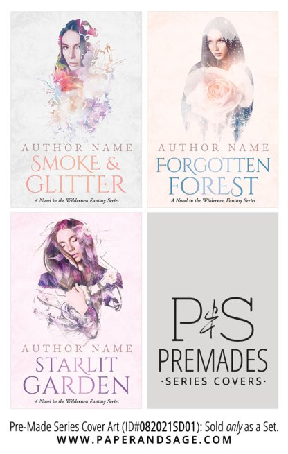 PreMade Series Covers ID#082021SD01 (Wilderness Series, Only Sold as a Set)