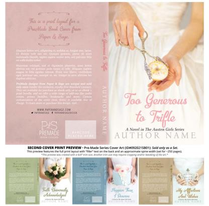PreMade Series Covers ID#092021SB01 (The Austen Girls Series, Only Sold as a Set)