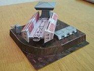 Papercraft imprimible y armable de la nave Bulkfreighter de Star Wars. Manualidades a Raudales.