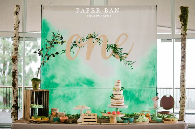 Paper Ban Photography Los Angeles Photographer Giving Tree Themed Party