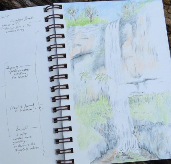 Purling Brook falls small