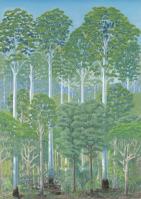 How to draw a forest (Part 2) – my first forest portrait