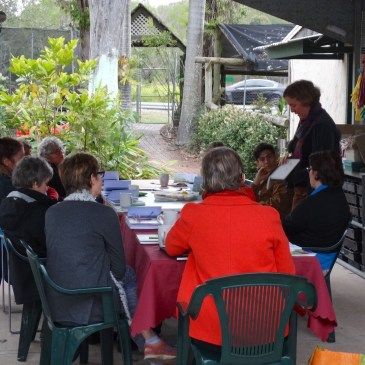 My first nature journaling workshop