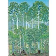 Flooded gum forest card